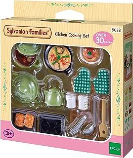 Sylvanian Families - Le Village - Le Set Ustensiles de Cuisine - 5028 - Meubles et Accessoires Poupée - Mini Poupées