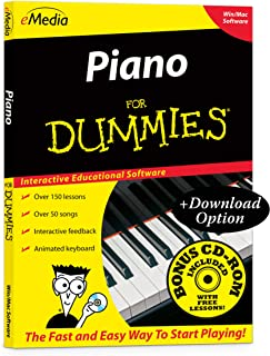 eMedia Piano For Dummies v2 - Amazon Exclusive Edition with