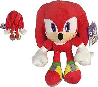 "Sonic - Peluche Knuckles The Echidna 11'40""/29cm Color Rojo Calidad Super Soft"