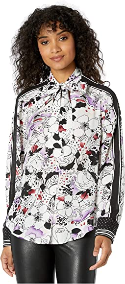 Optic White Large Sketch Floral