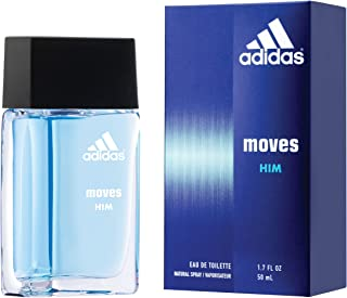 Adidas Moves for Men Eau de Toilette Spray 1.6 Fl OZ
