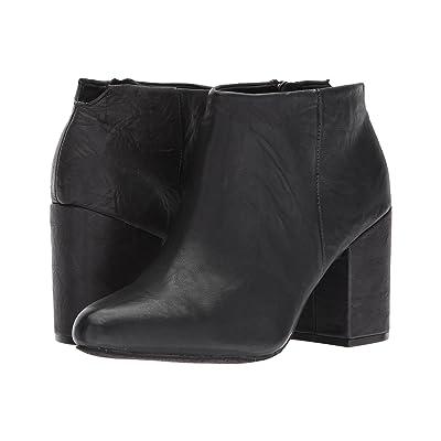 Me Too Zia (Black Crinkle Leather) Women