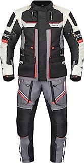 XLS Textilkombi hochwertige Motorradkombi X Drive Textil atmungsaktiv wasserdicht (4XL)