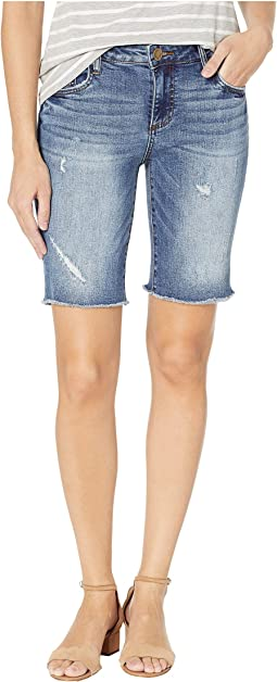 d641f18220 Rolled-Cuff Denim Bermuda Shorts. $69.50. Receive/Dark Stone Base Wash