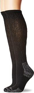 Women's Diabetic and Circulatory Texture Knee-Hi 2 Pack Sock