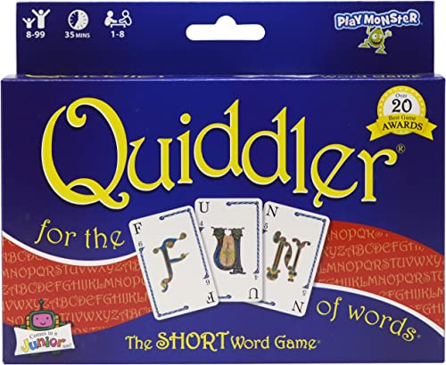 SET Enterprises Quiddler Card Game (5000)