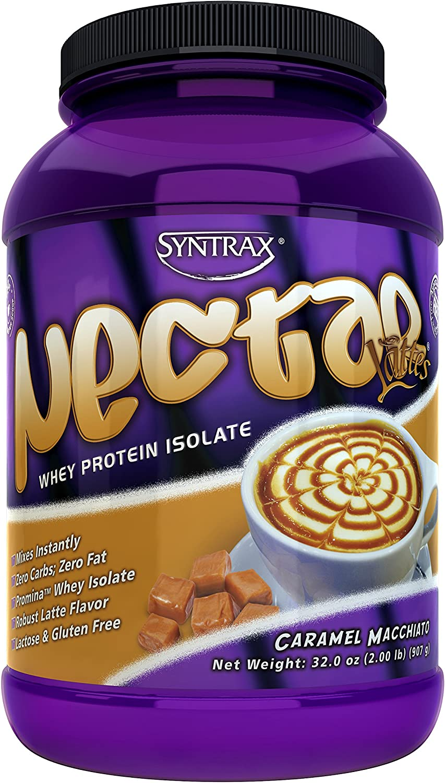 Syntrax Nectar Lattes, Caramel Macchiato, 32 Ounce