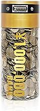 YSN 1,000,000円 貯まる カウント バンク   自動カウント バンク 貯金箱 貯金 100万円 百万円 自動計算 貯蓄