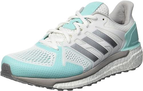 Adidas Supernova St, Chaussures Chaussures de FonctionneHommest Femme, Blanc (Footwear blanc argent Metallic Energy Aqua), 41 1 3 EU  classique intemporel