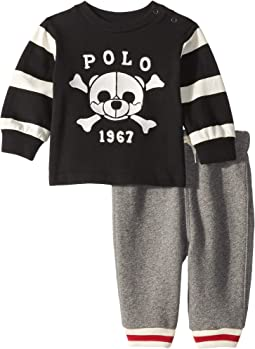 T-Shirt & Fleece Pants Set (Infant)