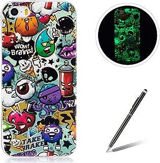 iphone 5s logo glow case