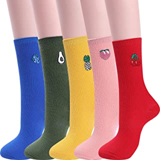 Jeasona Women's Fun Socks Cute Dog Animals Funny Funky Novelty Cotton