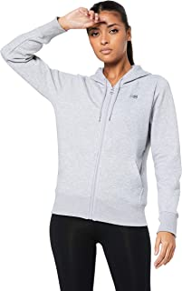 New Balance Women's Volume Fleece Full Zip Hoody