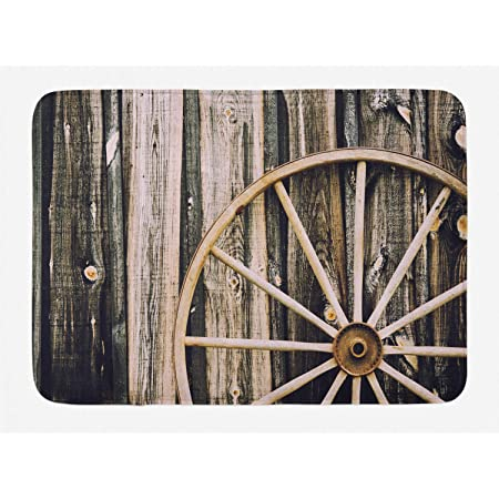 Black and White Rustic Wagon Wheel Throw Blanket