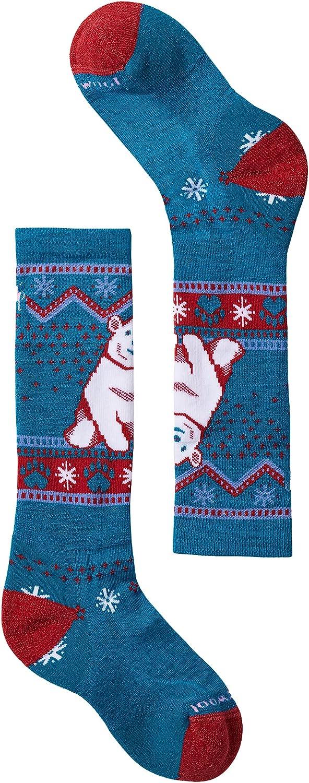 Smartwool Wintersport Full Cushion Yeti Pattern OTC (Toddler/Little Kid/Big Kid)