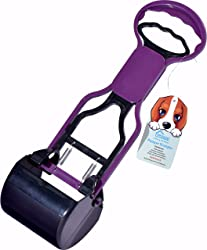 PPOGOO Non-Breakable Pet Pooper Scooper for Dogs and Cats High Strength Material and Durable Spring for Easy Grass and Gravel Pick Up for Kids Children