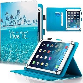 Dteck 7.5-8.5 بوصة جراب عالمي مع [قلم شاشة]، غطاء محفظة قابل للطي لجهاز iPad Mini/Samsung Galaxy/HD 8.3 بوصات /Huawei/Leno...