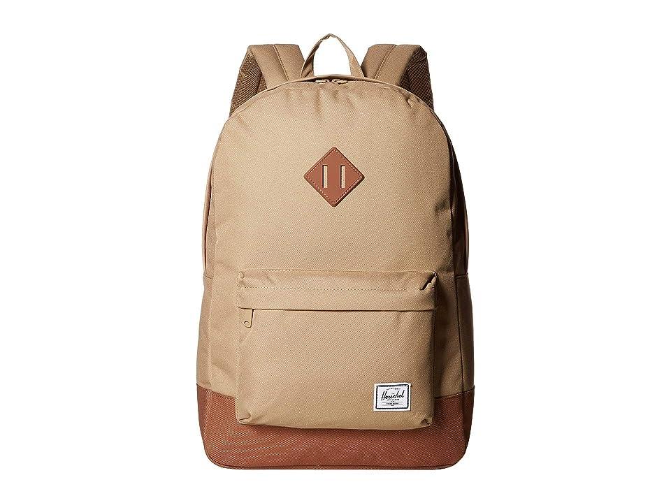 Herschel Supply Co. Heritage (Kelp/Saddle Brown) Backpack Bags
