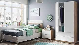 Miroytengo Pack de Muebles Dormitorio Juvenil Moderno Color