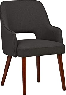 Rivet Contemporary Cut-Out Dining Chair, 33