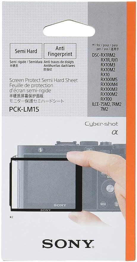 おなじみの暖かさ中傷ソニー SONY 液晶保護フィルム モニター保護セミハードシート PCK-LM15