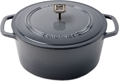 Marquette Castings 4 qt. Cast Iron Dutch Oven (Petoskey Gray)