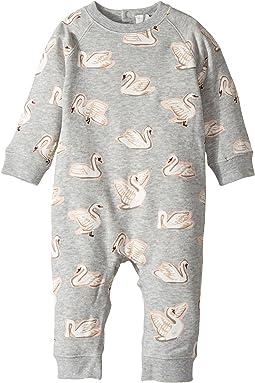 Stella McCartney Kids - Jimbo Swan Printed All-In-One (Infant)