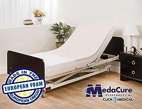 "Pressure Redistribution Foam Hospital Bed Mattress - 3 Layered Visco Elastic Memory Foam - 80"" x 36"" x 6"" - Hospital Grade Nylon Cover Included - by Medacure"