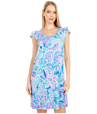 Lilly Pulitzer Bridgitte Dress (Multi Living The Dream) Women