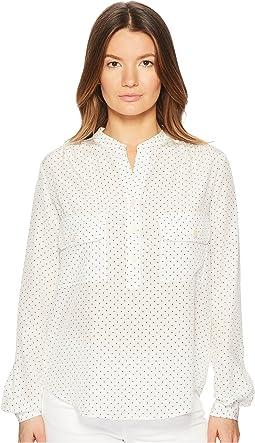 Polka Dot Utility Shirt