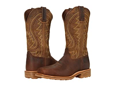 Durango Maverick Pro 12 Steel Toe (Flaxen Brown) Men
