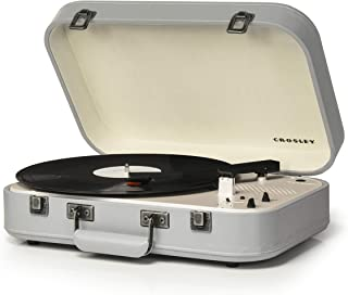 Crosley COUPE Record Player with bluetooth Gray