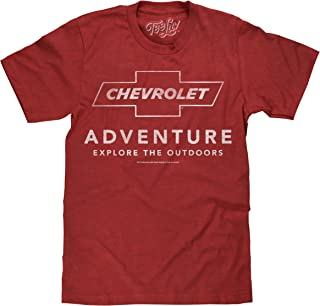 Tee Luv Chevrolet Adventure T-Shirt - Explore The Outdoors Chevy Shirt