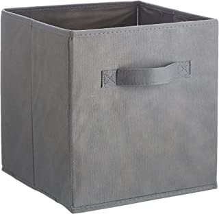 Amazon Basics Lot de 6 cubes de rangement pliants, Gris
