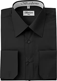 convertible cuff men's dress shirts
