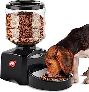 c9244c9846a1 Comedero Automático, 5.5L Dispensador de Comida para Mascotas Perros Gatos,  Alimentador Automático Programable