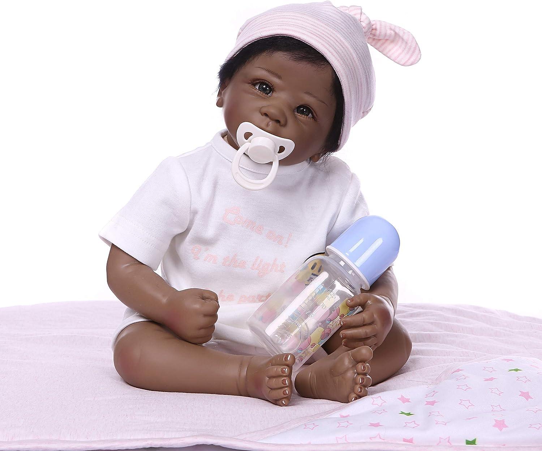compras de moda online ZIYIUI Reborn muñecos bebé 20 Pulgadas 50cm renacida renacida renacida Vinilo de bebé Silicona Bebes Reborn Dolls el muñecas Reborn Suave Silicona de muñeca de muñeca niña  promociones emocionantes