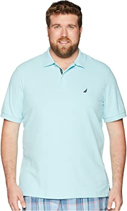 Nautica Big & Tall Big & Tall Short Sleeve Solid Deck Shirt