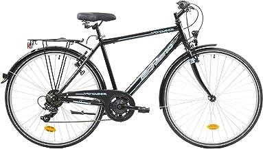 F.lli Schiano Voyager Bicicleta Trekking, Men's, Negro-Azul