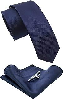skinny tie pocket square set