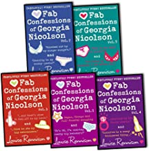 Louise Rennison The Confessions of Georgia Nicolson 5 Books (10 Titles Complete Series) Collection Pack Set RRP: £47.91 (A...