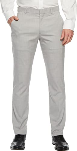 Perry Ellis Portfolio Slim Fit Stretch Crosshatch Dress Pant