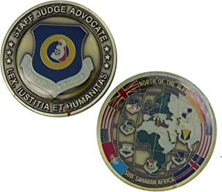 US Airforce Staff Judge Advocate Challenge Coin