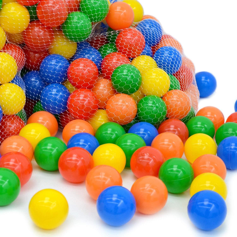 LittleTom 800 Gewerbe Bällebad Bälle Ø 6cm Kinder Spielbälle Plastikbälle Bunt B07JC2NG5P  Verwendet in der Haltbarkeit     | Kostengünstig