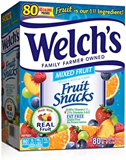 Welch's Fruit Snacks, 80 ct. (pack of 6)
