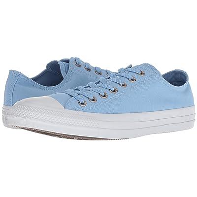 Converse Chuck Taylor All Star Botanical Neutrals Ox (Light Blue/Light Blue/Pure Platinum) Lace up casual Shoes