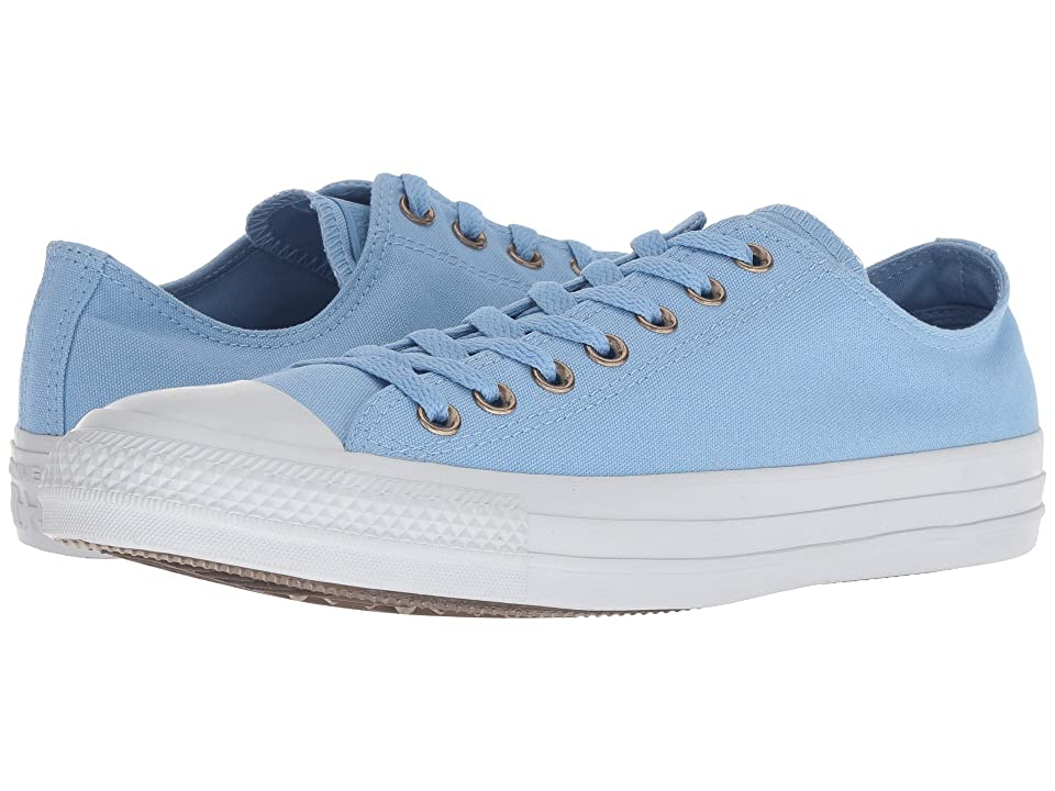 Converse Chuck Taylor All Star Botanical Neutrals Ox (Light Blue/Light Blue/Pure Platinum) Lace up casual Shoes