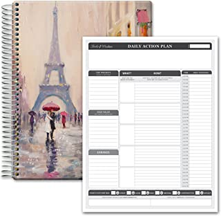2 in 1 Bundle Hardcover Planner Plus Planning Pad - Tools4Wisdom 2022 Planner dated October 2021 to December 2022 • Daily ... photo