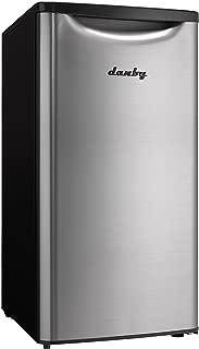 Danby DAR033A6BSLDB Contemporary Classic Compact All Refrigerator, Spotless Steel