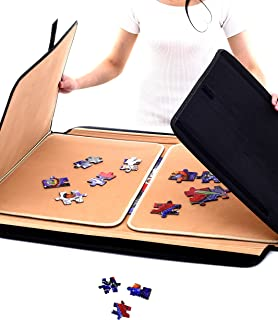 Jaques of London Jigsaw Board   Jigsaw Puzzle Mat   Jigsaw Puzzle Boards and Storage Saver   Portable Puzzle Board   Up to...